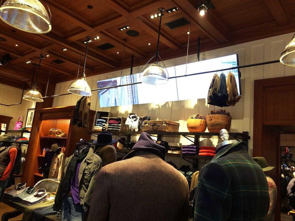 Ralph Lauren ruházati márkabolt